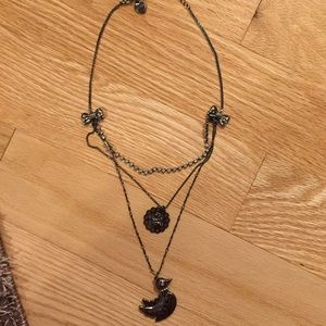 Betsy Johnson Layered Necklace